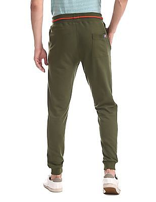 Colt Green Solid Knit Joggers