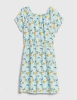 GAP Girls Floral Flutter Dress