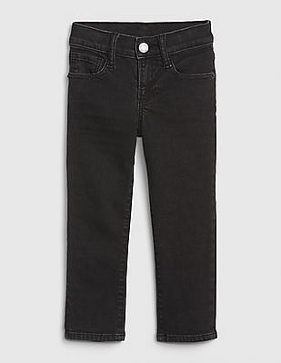 GAP Black Toddler Girl Slim Jeans With Fantastiflex
