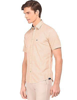 Arrow Sports Short Sleeve Printed Shirt