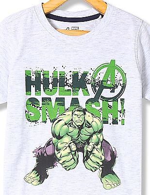 Colt Boys Crew Neck Hulk Print T-Shirt