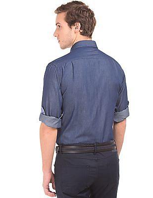 Nautica Button Down Denim Shirt