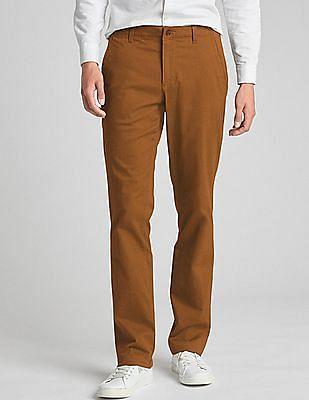 GAP Slim Fit Soft Wear Gap Flex Khakis