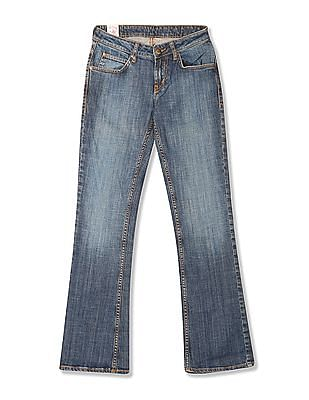 Flying Machine Women Bootcut Fit Mid Rise Jeans