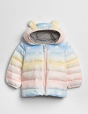GAP Baby ColdControl Lite Ombre Puffer Jacket