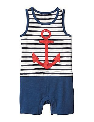 GAP Baby Nautical Double Layer One Piece