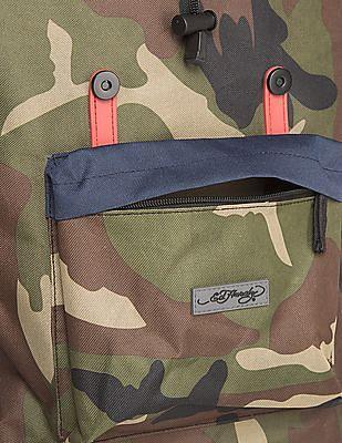 Ed Hardy Camo Print Backpack