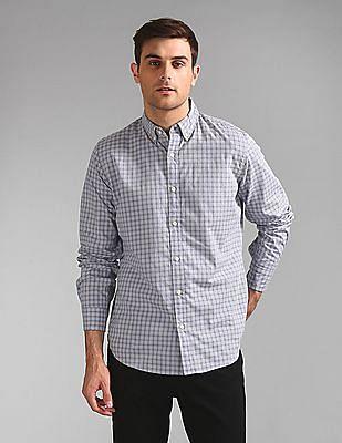 GAP Check Poplin Shirt