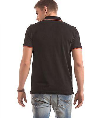 Izod Tipped Slim Fit Polo Shirt
