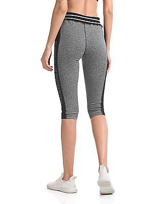 SUGR Heathered Cropped Active Leggings