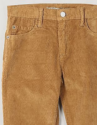 GAP Boys High Stretch Slim Cord Jeans