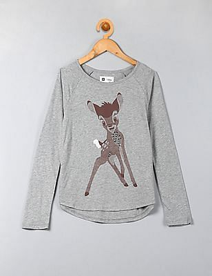 GAP Girls Gapkids & Disney Embellished Graphic Tee
