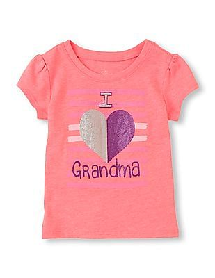 The Children's Place Baby Short Sleeve Graphic T-Shirt
