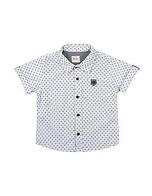 Donuts Boys Short Sleeve Printed Shirt