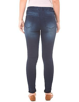 Cherokee Regular Fit Stone Washed Jeggings