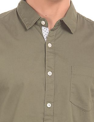 Ruggers Solid Contemporary Fit Shirt