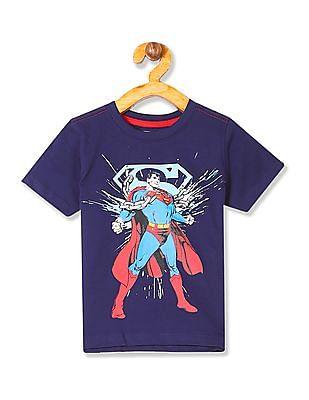 Colt Boys Superman Printed T-Shirt
