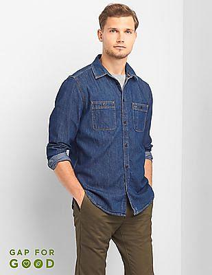 GAP Icon Worker Standard Fit Shirt