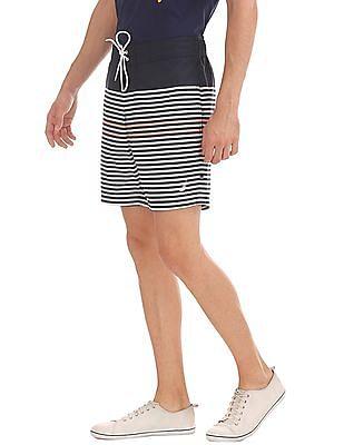 Nautica Quick Dry Striped Board Shorts