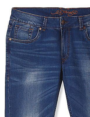 Ed Hardy Slim Fit Mid Waist Jeans
