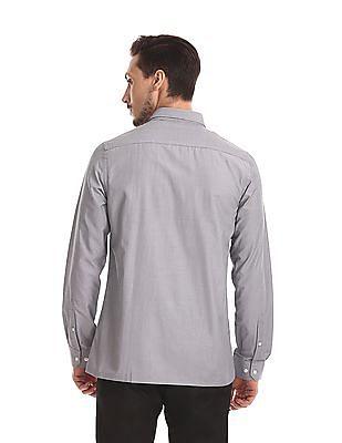 Excalibur Semi Cutaway Collar Long Sleeve Shirt - Pack Of 2