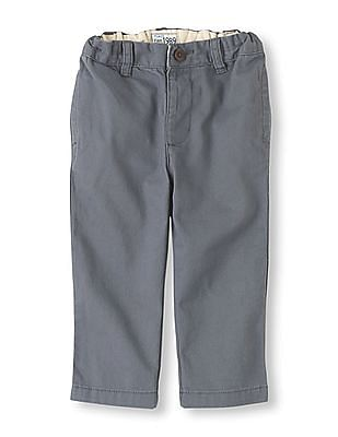 The Children's Place Boys Grey Chino Pants