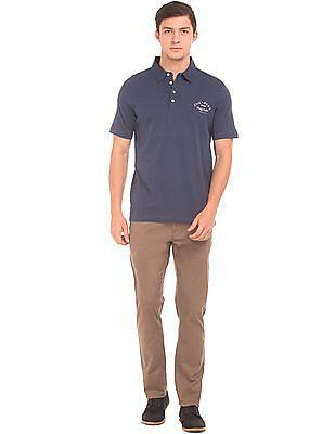 Cherokee Slubbed Regular Fit Polo Shirt