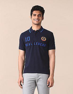 True Blue Signature Real Legend Pique Polo Shirt