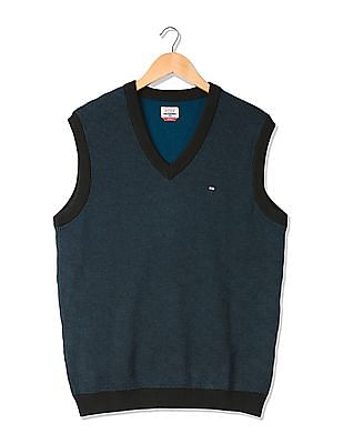 Arrow Sports Merino Wool V-Neck Sweater