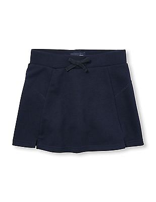 The Children's Place Girls Blue Flared Knit Skirt