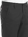 Arrow Sports Green Chrysler Slim Fit Mid Rise Trousers