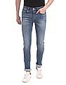 U.S. Polo Assn. Denim Co. Blue Regallo Skinny Fit Lightly Distressed Jeans