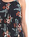 U.S. Polo Assn. Women Floral Print Maxi Dress