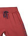 U.S. Polo Assn. Kids Boys Panelled Slim Fit Joggers