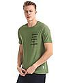 Cherokee Green Short Sleeve Panelled T-Shirt