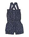 Cherokee Girls Star Print Strappy Romper