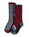 The Children's Place Boys Assorted 'Beast' Calf Socks 2-Pack