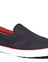 U.S. Polo Assn. Contrast Sole Perforated Slip On Shoes