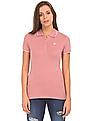 Aeropostale Regular Fit Tipped Polo Shirt