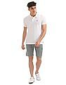 Izod Heathered Slim Fit Shorts