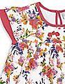 Cherokee Girls Floral Print Empire Waist Dress
