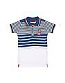 Cherokee Boys Panelled Jersey Polo Shirt