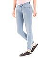 U.S. Polo Assn. Women Mid Rise Super Skinny Fit Jeans