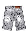 Cherokee Boys Printed Denim Shorts