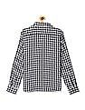Flying Machine Long Sleeve Check Reversible Shirt