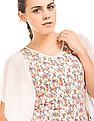 SUGR Printed Panelled Top