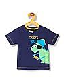 Donuts Boys Printed Applique T-Shirt