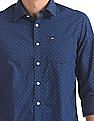 Arrow Sports Slim Fit Printed Shirt