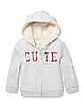 The Children's Place Baby Sherpa Hooded Sweatshirt