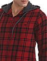 Aeropostale Hooded Check Shirt